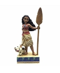 Disney Jim Shore Figure - Moana and Pua - Find your Own Way