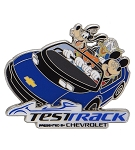 Disney Epcot Pin - Test Track - Mickey and Friends