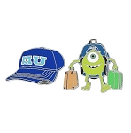 Disney Monsters University Pin Set - Mike Wazowski and Baseball Cap