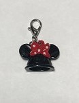 Disney Dangle Charm - Charmed in the Park - Minnie Ear Hat