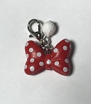 Disney Dangle Charm - Charmed in the Park - Minnie Mouse Bow