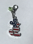 Disney Dangle Charm - Charmed in the Park - Mickey Americana