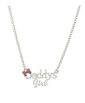 Disney Necklace - Minnie Mouse Bow - Daddy's Girl