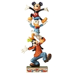 Disney Jim Shore Figure - Mickey Mouse and Friends - Teetering Tower