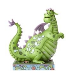 Disney Jim Shore Figure - Elliott - Pete's Dragon - Boy's Best Friend