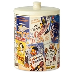Disney Kitchen Canister - Walt Disney Classic Film Poster Collage