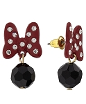 Disney Post Earrings - Dots and Dashes - Minnie Mouse Dot Drop
