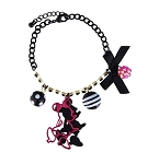 Disney Charm Bracelet - Dots and Dashes - Minnie Mouse Charms