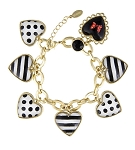 Disney Charm Bracelet - Dots and Dashes - Minnie Mouse Hearts
