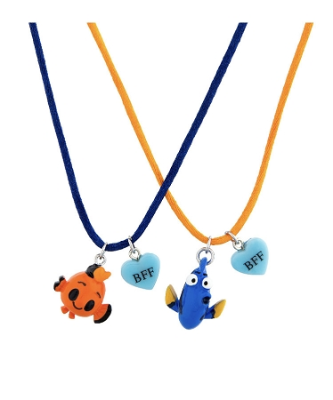 Disney Necklace Set - Emoji Nemo and Dory - BFF