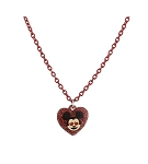 Disney Necklace - Emoji Mickey Heart