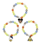 Disney Bracelet Set - Emoji Characters - Mickey Donald and Pluto