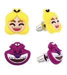 Disney Earrings Set - Emoji Alice and Cheshire - Set of 2
