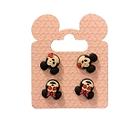 Disney Earrings Set - Emoji Mickey and Minnie Mouse - Set of 2
