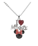 Disney Necklace - I Heart Minnie Mouse