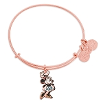 Disney Alex and Ani Bracelet - Minnie Mouse Figural Bangle - Rose Gold