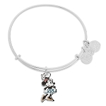 Disney Alex and Ani Bracelet - Minnie Mouse Figural Bangle - Silver