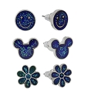 Disney Post Earrings - Mickey Icon - Mood - Set of 3