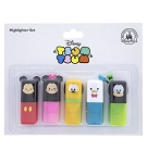 Disney Highlighter Set - Tsum Tsum - Mickey and Friends - 5 Pack