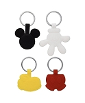 Disney Keychain Set - Mickey Mouse Icons - 4 Pack