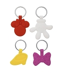 Disney Keychain Set - Minnie Mouse Icons - 4 Pack