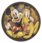 Disney Paperweight - Mickey and Pluto - By Wilson