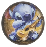 Disney Paperweight - Stitch with Guitar - By Wilson