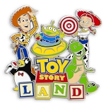Disney Toy Story Pin - Toy Story Land Logo