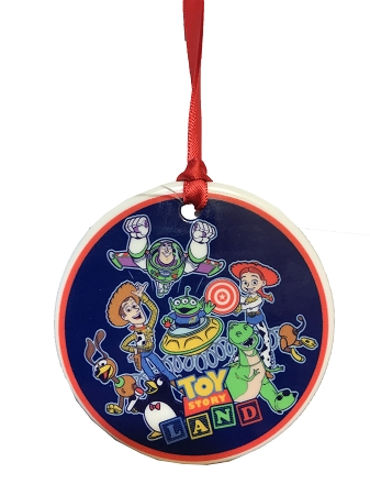 Toy Story Christmas Ornaments.Disney Christmas Ornament Toy Story Land Opening Day 2018