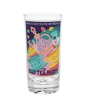 Disney Tumbler Glass - Attraction Poster - The Mad Tea Party