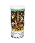 Disney Tumbler Glass - Attraction Poster - Enchanted Tiki Room
