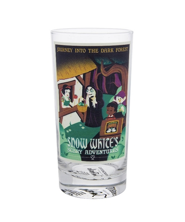 Disney Tumbler Glass - Attraction Poster - Snow White Scary Adventure