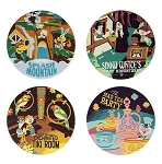 Disney Coaster Set - Attraction Poster - Magic Kingdom