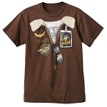 Disney Shirt for Adults - Mickey Soarin' Around the World Costume
