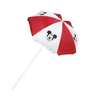 Disney Beach Umbrella - Mickey Mouse - Red and White