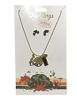 Disney Necklace and Earrings Set - Greetings - Animal Kingdom