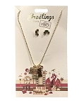 Disney Necklace and Earrings Set - Greetings - Hollywood Studios