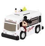 Disney Die Cast Vehicle - Disney Parks Bus - Mickey and Goofy