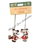 Disney Bell Ornament Set - Turn of the Century - Mickey and Minnie