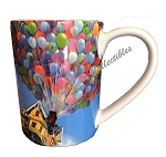 Disney Coffee Mug - Pixar UP - House with Balloons - Adventure