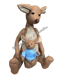 Disney Christopher Robin Plush - Kanga and Roo - Winnie the Pooh