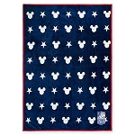 Disney Throw Blanket - Mickey Mouse Americana - Reversible
