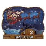 Disney Holiday Countdown Calendar - Santa Mickey and Minnie Mouse