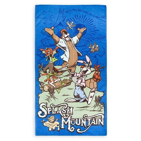 Disney Beach Towel - Splash Mountain - Br'er Rabbit