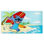 Disney Beach Towel - Stitch Boogie Boarding
