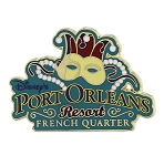 Disney Resort Pin - Disney's Port Orleans French Quarter Resort