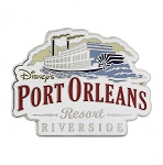 Disney Resort Pin - Disney's Port Orleans Riverside Resort
