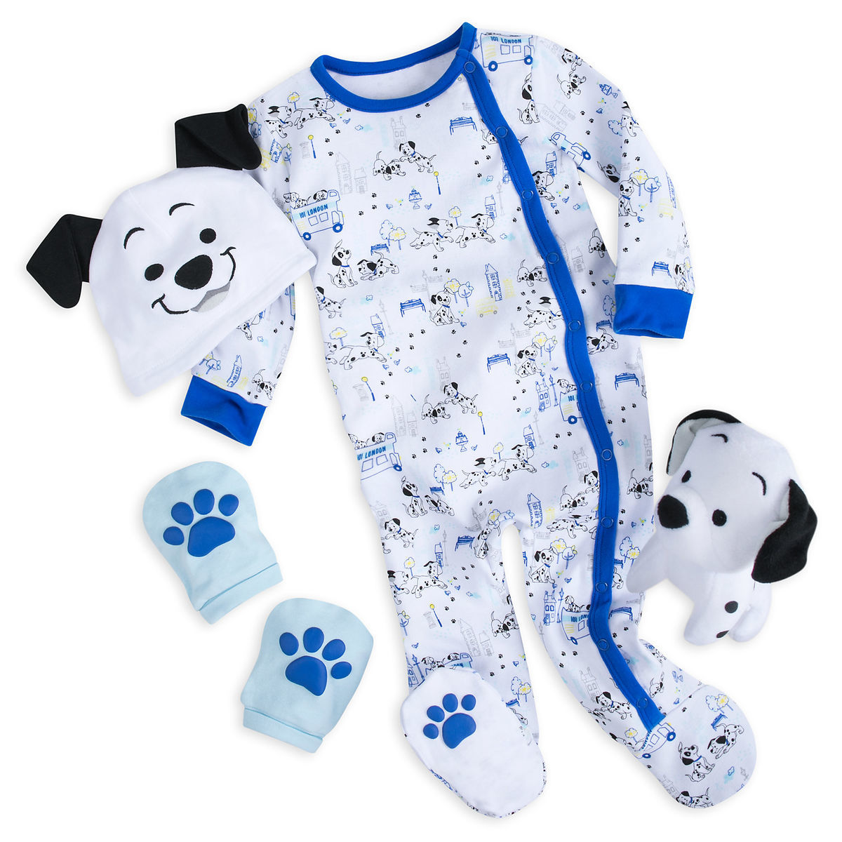 Disney Gift Set for Baby - 101 Dalmatians - 4 Piece Set
