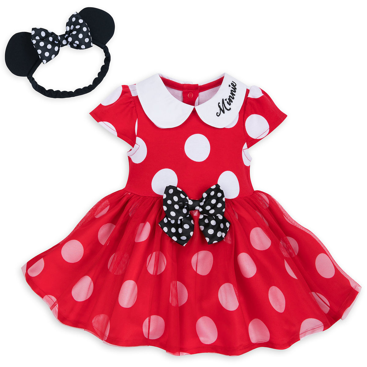 68f1c4edd Add to My Lists. Disney Bodysuit Dress for Baby - Minnie Mouse ...