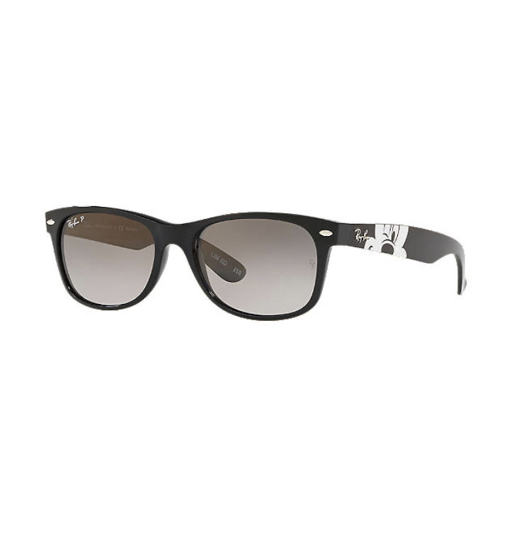 Disney Ray-Ban Sunglasses - Mickey Mouse Wink - Black and White